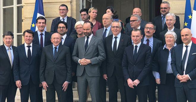Matignon : pacte financier, 16 avril 2018 ©VRouvreau
