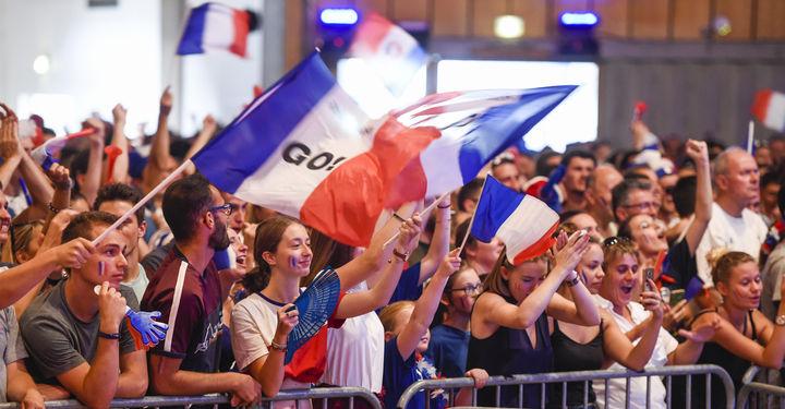 Finale Coupe du Monde de football au Dôme de Noron le 15 juillet 2018 ©B.Felace