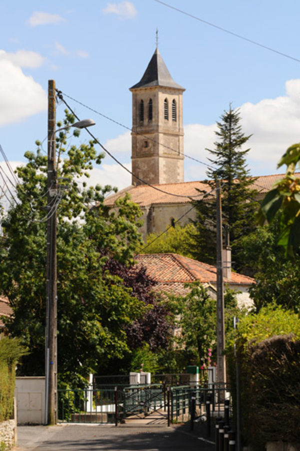 L'église de Souché © Eric Chauvet