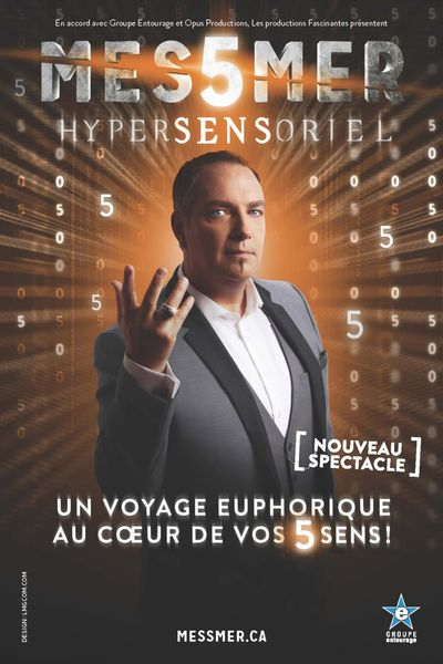 Spectacle : Messmer - Hypersensoriel