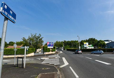 Illustration article : La rue du Fief d'Amourettes à Niort fait peau neuve