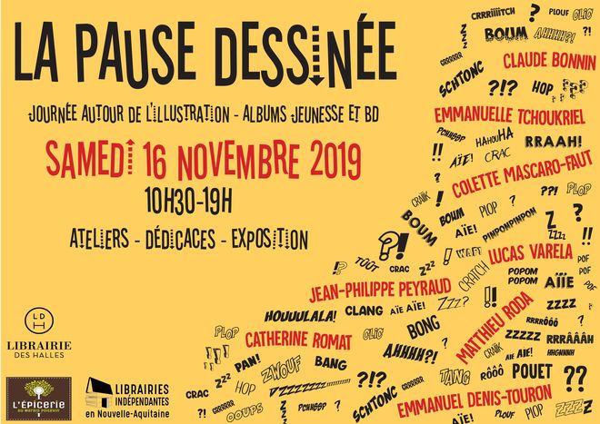 Festival : La Pause Dessinée