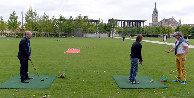 Niort Plage : Golf