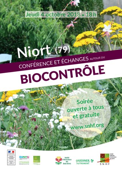 Conférence et échanges autour du biocontrôle