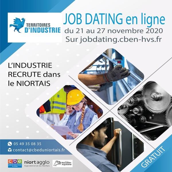 Job dating spécial industrie