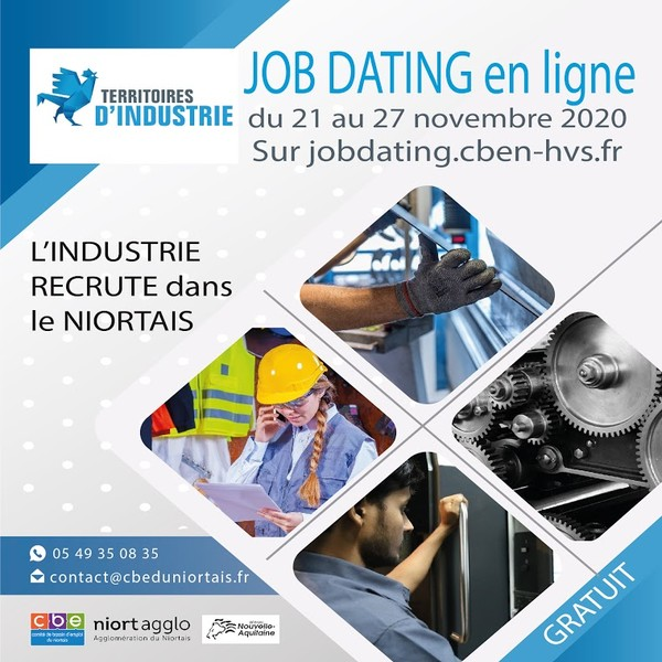 Job dating spécial industrie