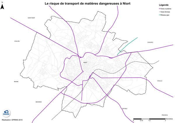 Carte transport de matières dangereuses