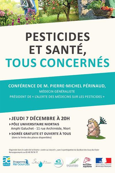 Conférence : pesticides et santé, tous concernés