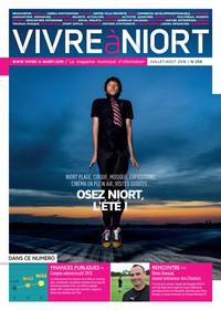 couverture Magazine vivre à niort : Numéro de juillet/août 2016