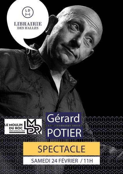Spectacle : Gérard Potier