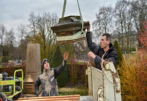 Illustration article : La stèle T.-H. Main bientôt à Port Boinot