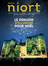 couverture Magazine vivre à niort : Numéro de décembre 2016