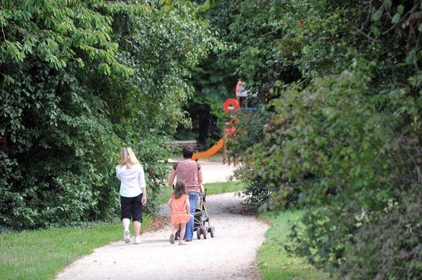 Le parc des Brizeaux - Photo Darri