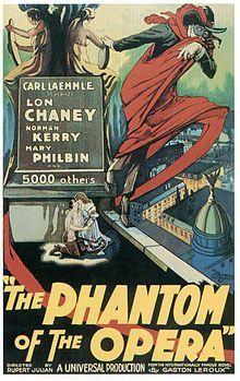 Ciné-concert : Le Fantôme de l'Opéra de Rupert Julian (1925)