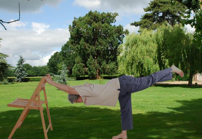 Niort Plage : Yoga adapté sur chaise