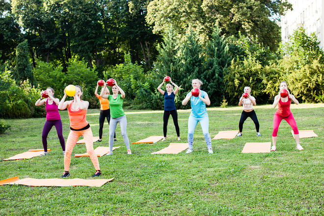 Niort Plage : Fitness - Aérobic