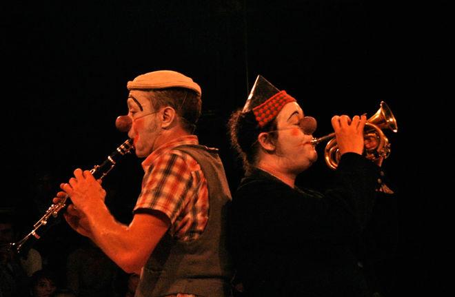 Stage de clown par la compagnie L'Attraction céleste