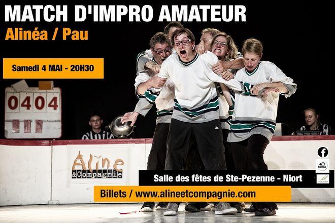 Match d'Impro amateur Alinéa / Pau