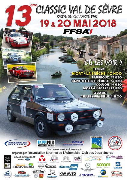 13e Rallye Classic Val de Sèvre