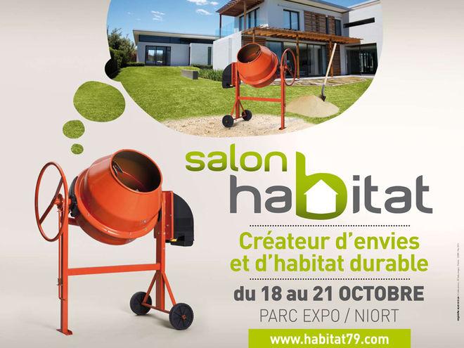 Salon de l 39 habitat mairie de niort for Parc des expositions niort
