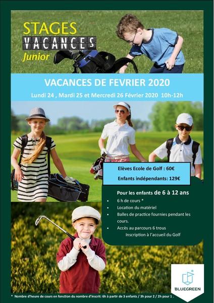 Sport : Stage de Golf junior