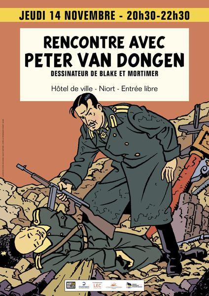 Bande dessinée : Rencontre avec Peter Van Dongen