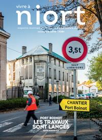 couverture Magazine vivre à niort : Numéro de novembre 2018