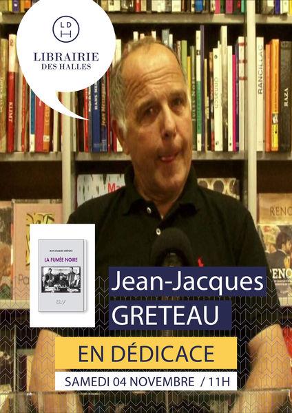 Rencontre-dédicace : Jean-Jacques Greteau