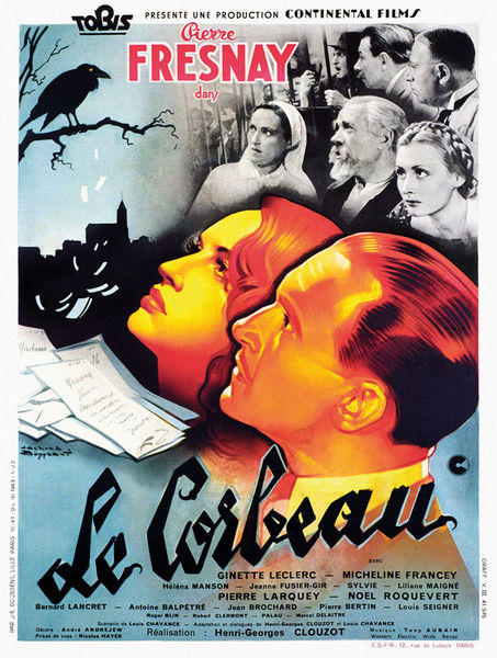"""Projection du film """"Le Corbeau"""" - Festival du polar Regards Noirs"""