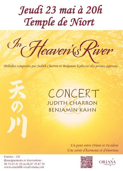 """Concert : """"In Heaven's river"""""""