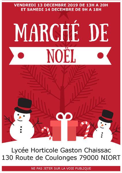 Marché de Noël au lycée horticole