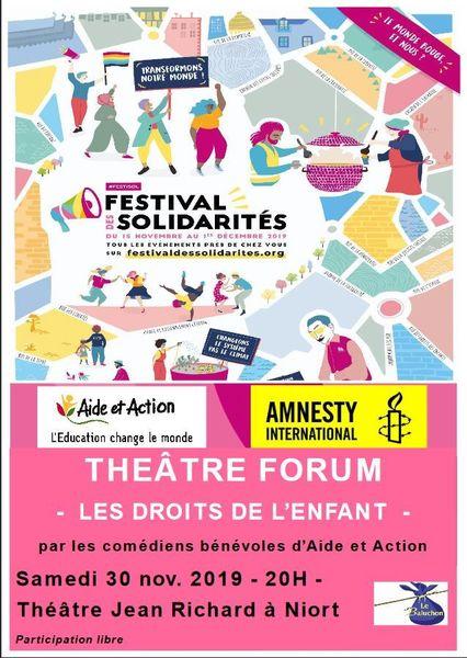 """Théâtre Forum """"Les droits de l'enfant"""""""