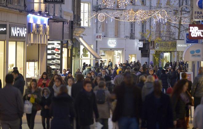 Marché de Noel et attractivité en centre ville