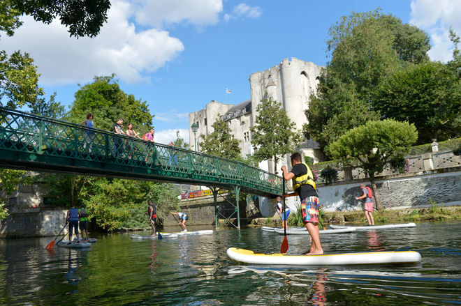 Niort Plage : Stand up paddle