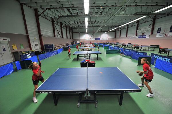 Centre municipal de tennis de table de Niort © B. Derbord