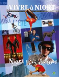 couverture Magazine vivre à niort : Numéro de l'été 2009