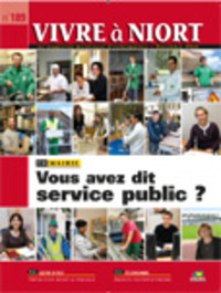 couverture Magazine vivre à niort : Numéro de novembre 2008