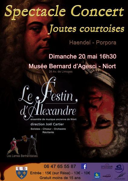 Concert : Le Festin d'Alexandre, Joutes courtoises