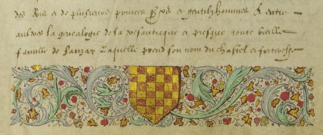 Conférence : le manuscrit de Sanzay