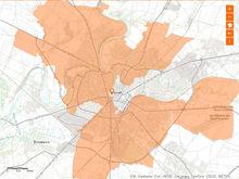 Plan du déploiement de la fibre optique à Niort