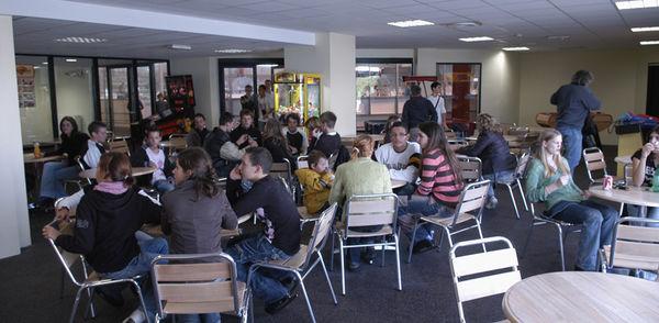 Photo de la cafétéria de la patinoire de Niort