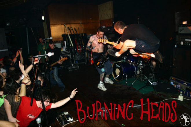 Festival Metal Rise and Fall : concerts Burning Heads /Toxxic Tv /The Rock Burning School of Diff'Art
