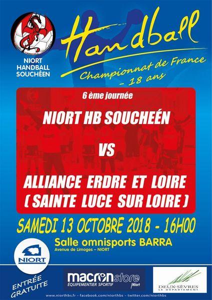 Sport : Handball Championnat -18