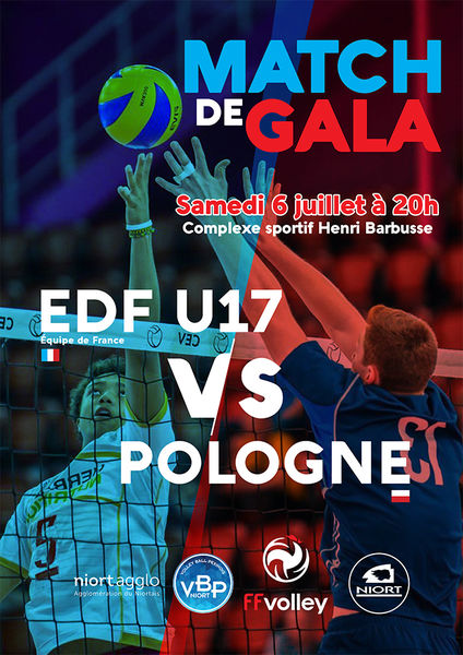 Volley-Ball : match exhibition France/Pologne
