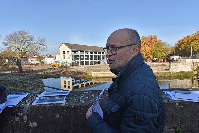 Michel Pailley, adjoint au maire de Niort, en charge notammentr du patrimoine naturel et de la biodiversité ©Bruno Derbord