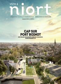 couverture Magazine vivre à niort : Numéro de septembre 2016
