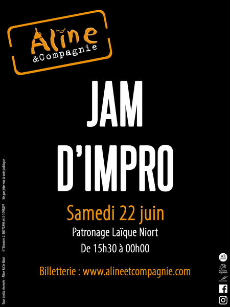 Jam d'Impro by Aline et Cie !