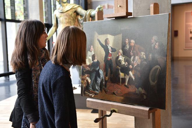 Le musée Bernard d'Agesci s'anime en famille