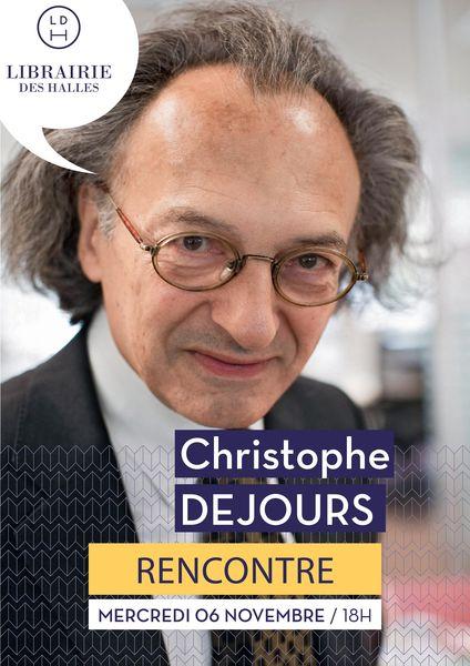 Rencontre : Christophe Dejours et la Cie Mouline