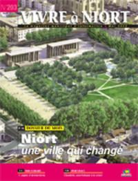 couverture Magazine vivre à niort : Numéro de mai 2010